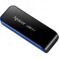 Флешка USB 3.1 64GB Apacer AH356 Black (AP64GAH356B-1)