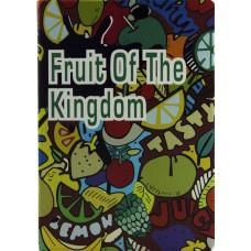 Чехол книжка PU Paint Case для iPad Air 2 Fruit Kigdom