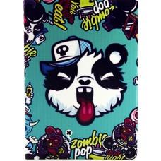 Чехол книжка PU Paint Case для iPad Air 2 Zombie Pop Panda