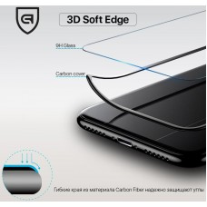 Защитное стекло Armorstandart 3D Full Glue Soft Edge для iPhone SE 2020 Black (ARM49732-GSE-BK)