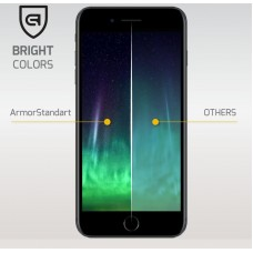 Защитное стекло Armorstandart Full сover для Samsung A8 Plus 2018 A730 Black (ARM50890-GFS-BK)