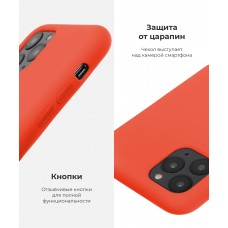 Чехол накладка TPU Armorstandart Solid Series для iPhone 7 8 Plus Spicy Orange (ARM51711)