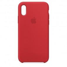 Чехол накладка TPU Armorstandart Silicone для iPhone XR Red (ARM53238)