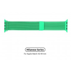 Браслет Metal Armorstandart Milanese Loop для Apple Watch 42mm 44mm Green (ARM54393)