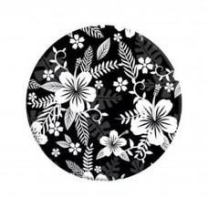 Держатель ArmorStandart PopSoket с автодержателем Flowers Black/White (ARM54667)