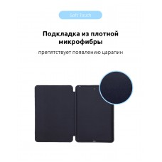 Чехол книжка TPU Armorstandart для iPad 9.7 2017 2018 Midnight/Blue (ARM54797)