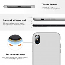 Чехол накладка TPU Armorstandart Silicone для iPhone 7 8 Plus Papaya (ARM54859)