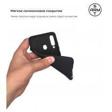 Чехол накладка TPU Armorstandart Matte Slim Fit для Samsung M40 2019 M405 A60 2019 A605 Black (ARM54