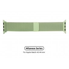 Браслет Metal Armorstandart Milanese Loop для Apple Watch 42mm 44mm Lime Green (ARM55259)