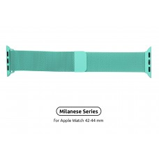 Браслет Metal Armorstandart Milanese Loop для Apple Watch 42mm 44mm Mint Green (ARM55260)