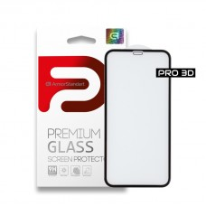 Защитное стекло Armorstandart Pro 3D Full Glue для iPhone 11 XR Black (ARM55370-GP3D-BK)
