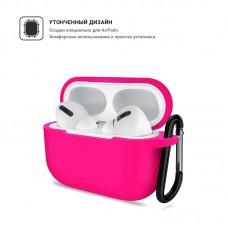 Чехол TPU Armorstandart Silicone для Apple Airpods Pro Hot Pink (ARM56077)