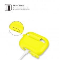 Чехол TPU Armorstandart Silicone для Apple Airpods Pro Yellow (ARM56079)