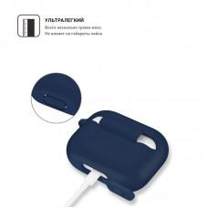 Чехол TPU Armorstandart Silicone для Apple Airpods Pro Midnight Blue (ARM56080)