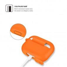 Чехол TPU Armorstandart Silicone для Apple Airpods Pro Orange (ARM56088)