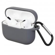 Чехол Armorstandart TPU Hang для кейса наушников Apple Airpods Pro Dark/Grey (ARM56089)