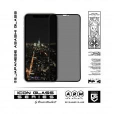 Защитное стекло Armorstandart Icon 3D Full Glue Anti-spy для iPhone 11 Pro XS X Black (ARM56126-GI3D