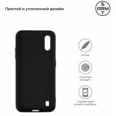 Чехол накладка TPU Armorstandart Matte Slim Fit для Samsung A01 A015 Black (ARM56137)