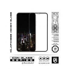 Защитное стекло Armorstandart 3D Full Glue Icon для iPhone 11 Pro XS Black (2шт) (ARM56213-GI3D-BK)