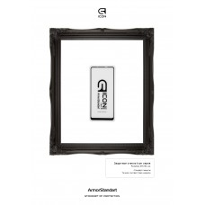 Защитное стекло Armorstandart Icon Full Glue для Samsung A21 A215 Black (ARM56243-GIC-BK)