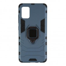 Чехол накладка TPU Armorstandart Iron для Samsung A51 A515 Dark Blue (ARM56319)