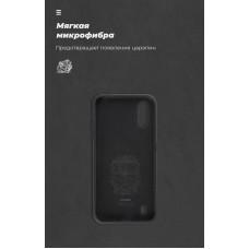 Чехол накладка TPU Armorstandart Icon для Samsung A01 A015 Black (ARM56327)