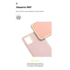 Чехол накладка TPU Armorstandart Icon для Samsung A01 A015 Pink Sand (ARM56328)