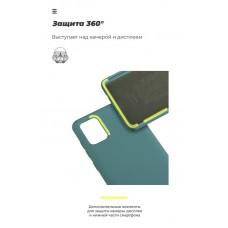 Чехол накладка TPU Armorstandart Icon для Samsung A01 A015 Pine Green (ARM56329)