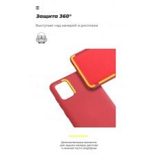 Чехол накладка TPU Armorstandart Icon для Samsung A01 A015 Red (ARM56330)