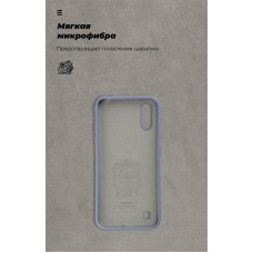 Чехол накладка TPU Armorstandart Icon для Samsung A01 A015 Blue (ARM56331)