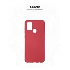 Чехол накладка TPU Armorstandart ICON для Samsung A21s A217 Red (ARM56335)