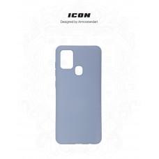 Чехол накладка TPU Armorstandart ICON для Samsung A21s A217 Blue (ARM56336)