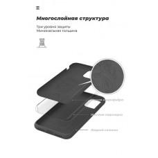 Чехол накладка TPU Armorstandart Icon для Samsung A51 A515 Black (ARM56337)