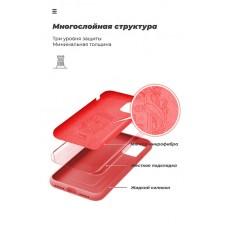 Чехол накладка TPU Armorstandart Icon для Samsung A51 A515 Red (ARM56340)