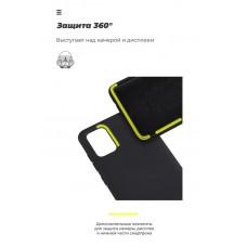 Чехол накладка TPU Armorstandart Icon для Samsung A71 A715 Black (ARM56342)