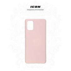 Чехол накладка TPU Armorstandart Icon для Samsung A71 A715 Pink Sand (ARM56343)