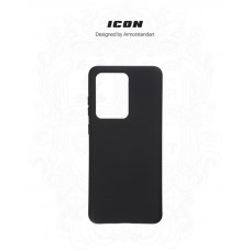 Чехол накладка TPU Armorstandart Icon для Samsung S20 Ultra G988 Black (ARM56357)