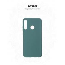 Чехол накладка TPU Armorstandart Icon для Huawei P40 Lite E Pine Green (ARM56370)