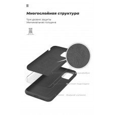 Чехол накладка TPU Armorstandart ICON для Samsung A31 A315 Black (ARM56371)