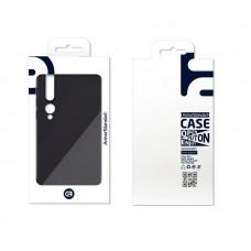 Чехол накладка TPU Armorstandart Matte Slim Fit для Xiaomi Mi 10 Black (ARM56498)
