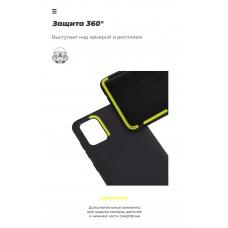 Чехол накладка TPU Armorstandart ICON для Samsung A11 A115 M11 M115 Black (ARM56571)