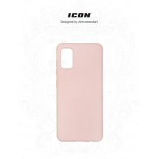 Чехол накладка TPU Armorstandart ICON для Samsung A41 A415 Pink/Sand (ARM56577)