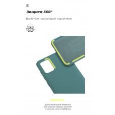 Чехол накладка TPU Armorstandart ICON для Samsung A41 A415 Pine/Green (ARM56578)