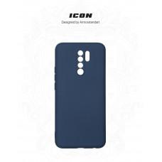 Чехол накладка TPU Armorstandart ICON для Xiaomi Redmi 9 Dark Blue (ARM56595)