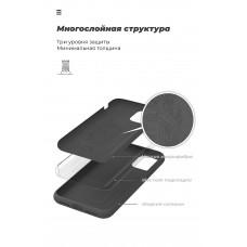 Чехол накладка TPU Armorstandart ICON для Xiaomi Redmi Note 9S 9 Pro 9 Pro Max Black (ARM56601)