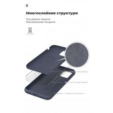 Чехол накладка TPU Armorstandart ICON для Xiaomi Redmi Note 9S 9 Pro 9 Pro Max Dark Blue (ARM56605)