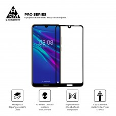 Защитное стекло Armorstandart Pro Full Glue для Huawei Y6 2019 Black (ARM56671)