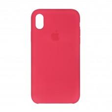 Чехол накладка TPU Armorstandart Silicone для iPhone XR Red Raspberry (ARM56905)