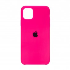 Чехол накладка TPU Armorstandart Silicone для iPhone 11 Pro Max Electric/Pink (ARM56936)