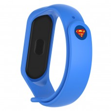 Ремешок TPU Armorstandart Superhero Edition для Xiaomi Mi Band 5 Superman Blue (ARM57074)